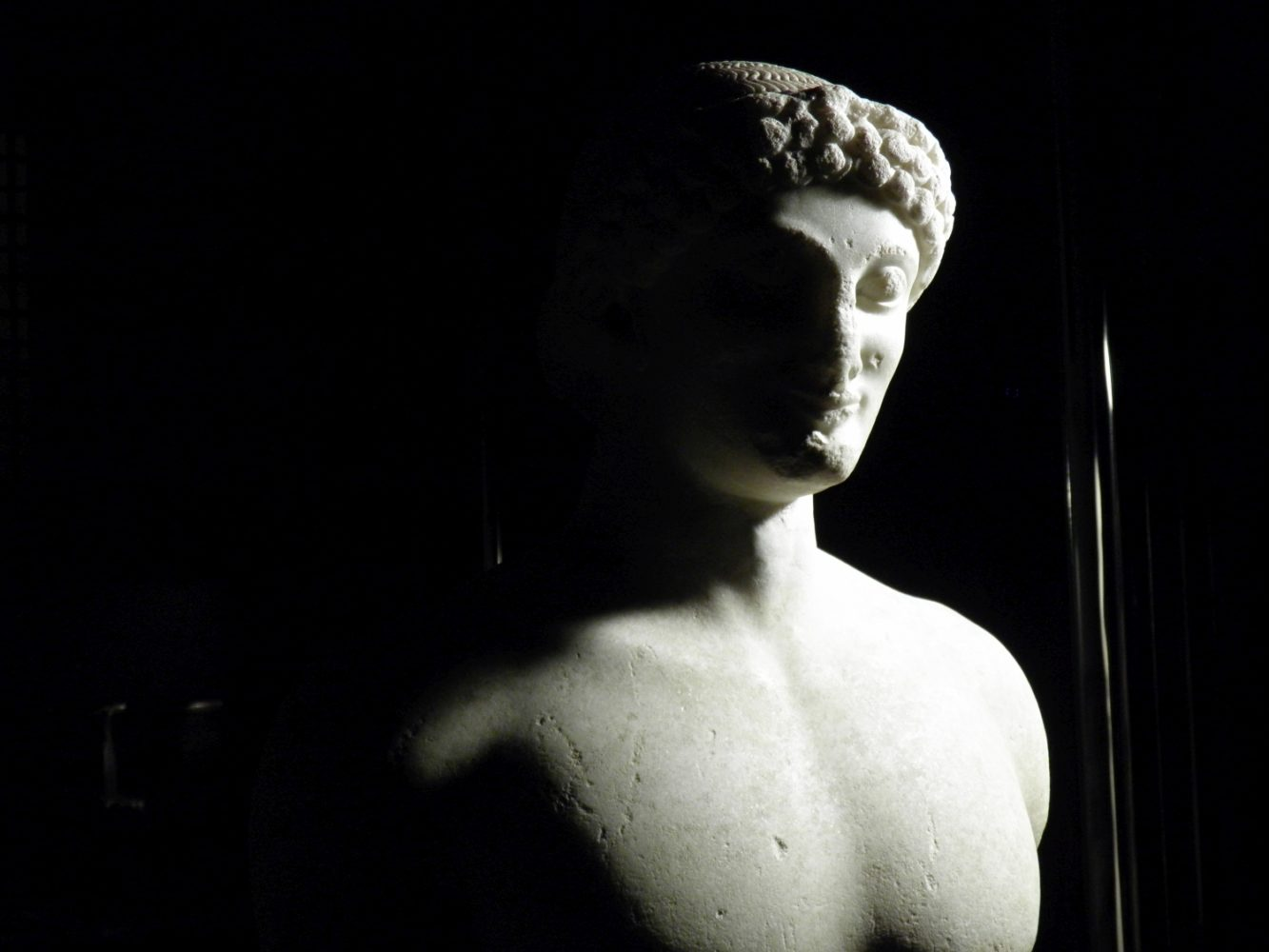 The rediscovered Kouros
