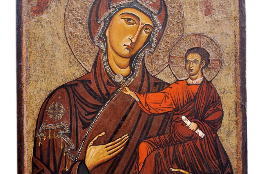 La Madonna Odigitria della Cattedrale di Monreale