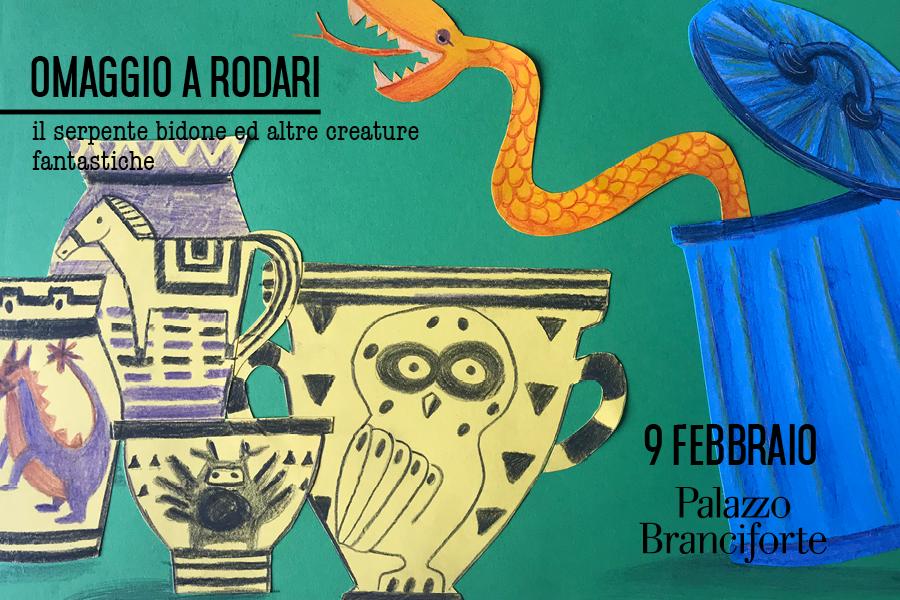 Omaggio a Rodari – Il serpente bidone e altre creature fantastiche